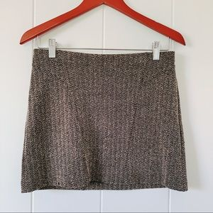 Black and grey Express skirt